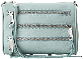 Rebecca Minkoff Mini Mac Clutch,Baby Blue,One Size