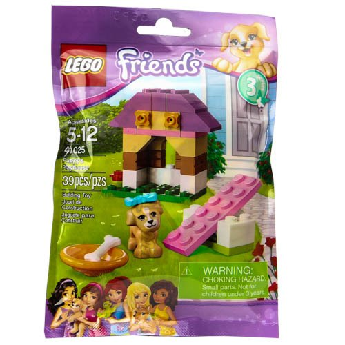 LEGO Friends Series 3 Animals - Puppy's Playhouse (41025) - 1