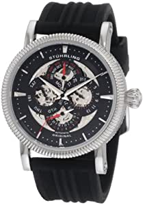 Stuhrling Original Men's 150DR.33161 Symphony Maestro III Automatic Skeleton Day, Date, Month, and 24 Hour Time Indication Watch