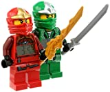 LEGO Kids 9009907 Ninjago Kai ZX and Lloyd ZX Minifigure Clocks 2 Pack