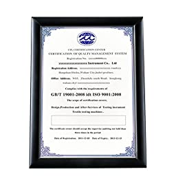 BOJIN Vintage Document Frame Without Mat, Wooden Table Top Certificate Frame, A4 Poster Frame, Marriage License Frame, University Diploma Picture Frame - Black,Plexiglass(Plastic) Screen