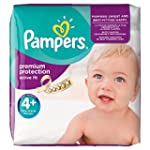 Pampers Active Fit Nappies, Size 4+ (...