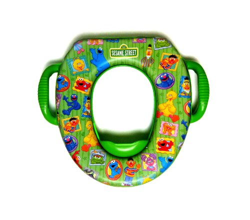 Sesame Street Soft Potty Seat - Framed Friends