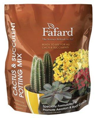 Conrad Fafard 6520814 Cactus & Succulent Potting Mix, 8-Qts. - Quantity 8 (Fafard Potting Soil compare prices)