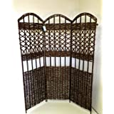 Master Garden Products 3-Panel Willow Screen Divider, 54 by 60-Inch at Sears.com