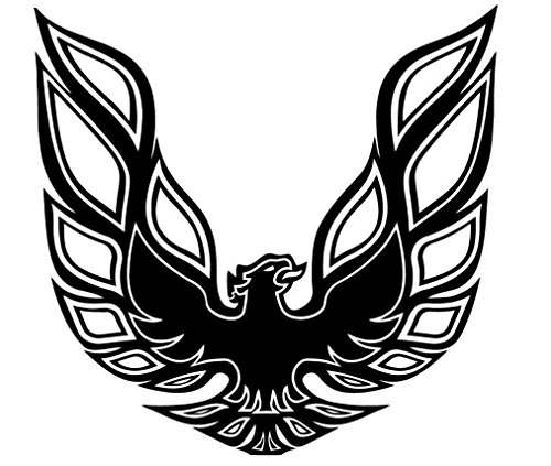 pontiac-firebird-trans-am-hood-bird-sticker-decal-vinyl-blackwhite-red-or-gold-black
