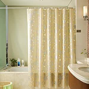 Amazon Peva PEVA Shower Liner Curtain Sets With Hooks