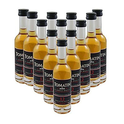 Tomatin 12 year old Single Malt Whisky 5cl Miniature - 12 Pack from Tomatin