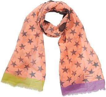 Codello Damen Tuch 41023503, Gestreift, Gr. One size, Orange (orange 11 11)