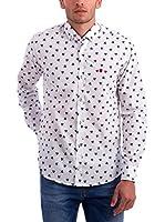 Polo Club Camisa Hombre Brescia (Blanco / Azul)