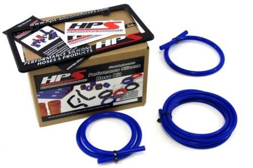 85-95 Toyota Pickup 4Runner Hilux 22RE HPS Blue Silicone Vacuum Hose Kit 94 93 92 91 90 89 (Vacuum Hose Repair Kit compare prices)