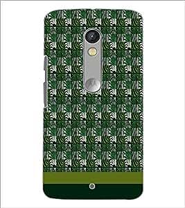 PrintDhaba Zebra pattern D-1809 Back Case Cover for MOTOROLA MOTO X PLAY (Multi-Coloured)