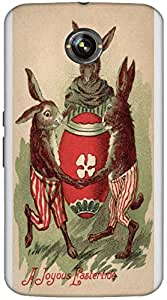Timpax protective Armor Hard Bumper Back Case Cover. Multicolor printed on 3 Dimensional case with latest & finest graphic design art. Compatible with only Google Nexus-6. Design No :TDZ-21139