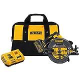 DEWALT DCS575T1 FLEXVOLT 60V MAX Brushless Circular Saw with Brake and 1 Battery Kit, 7-1/4