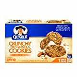 Quaker Granola Cookie Mixed Nuts Box, 9.3-Ounce (Pack of 12)