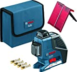 BOSCH Cross Laser Level GLL 3-80 P Set, 601063307
