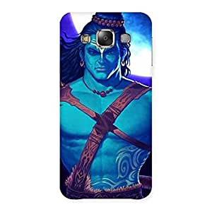 Warior Shiva Back Case Cover for Galaxy E7