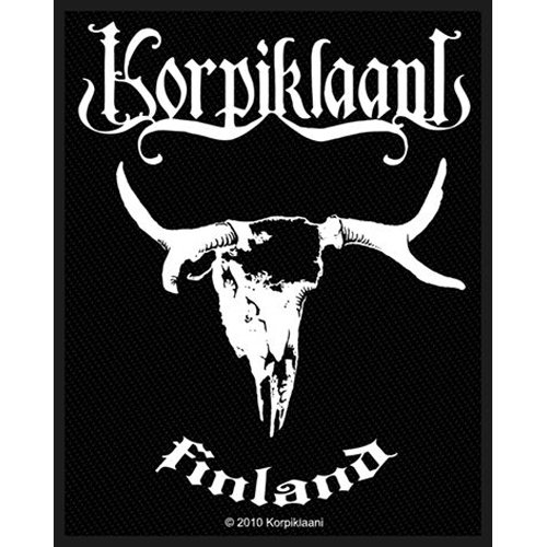 Korpiklaani - Patch Finland (in 10 cm)