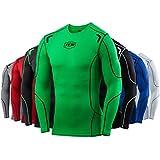 Men's Boy's TCA Elite+ Compression Base Layer Top Thermal Under Shirt