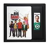 The Big Bang Theory Notizbuch & Lesezeichenset