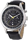 Mike Ellis New York Herren-Armbanduhr XL Chronograph Quarz Leder SL4-60226
