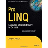 Pro LINQ: Language Integrated Query in C# 2008by Joseph Rattz Jr