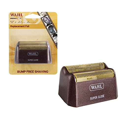 Wahl Professional 5-Star Series Replacement Gold Foil  7031-200  Hypo-Allergenic for Super Close Shaving (Wahl Replacement Trimmer Blade compare prices)