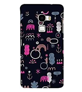 Fuson Premium Random Art Printed Hard Plastic Back Case Cover for LeEco Le Max