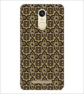 PrintDhaba Pattern D-5444 Back Case Cover for XIAOMI REDMI NOTE 3 PRO (Multi-Coloured)