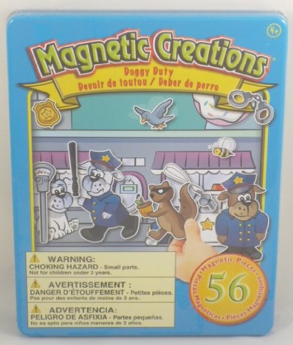 Magnetic Creations Doggy Duty Playset