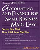 img - for Accounting and Finance for Small Business Made Easy (Entrepreneur Made Easy) book / textbook / text book