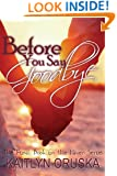 Before You Say Goodbye (The Haven Series Book 4)