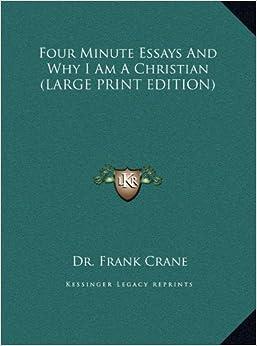 Dr. Frank Crane