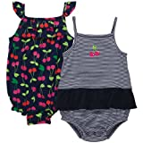Carters Baby Girls Infant 2-Pack Sunsuit