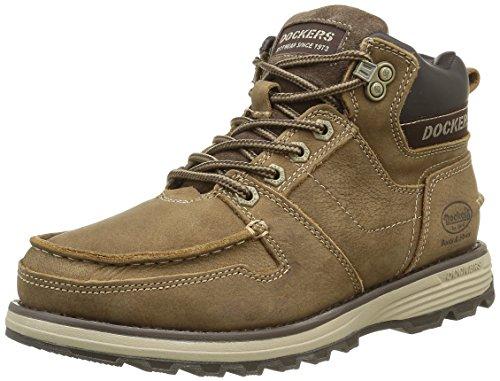 Dockers39TI007 - Stivali classici alla caviglia Uomo , Beige (Stone 420), 40