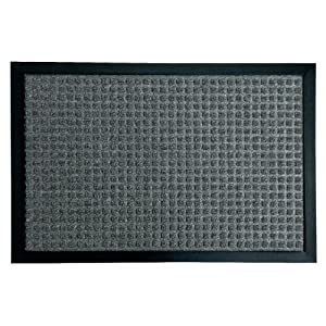 Rubber-Cal Nottingham Carpet Floor Mats - 24x36-inch Rubber Carpet Mat - Brown, Tan, Blue, Charcoal, or Gray at Sears.com