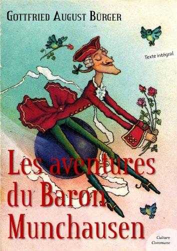Couverture du livre Les aventures du Baron de Munchausen