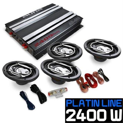 4.0 Auto Anlage Lautsprecherset AutoBoxen Hifi