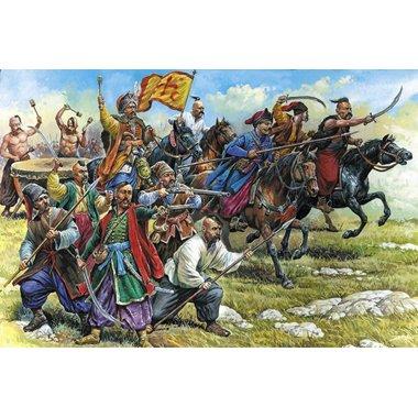 Buy Low Price Zvezda Zaporzhian Cossacks Xvi-xviii Ad 1-72 Zvezda Figure (B002XN7Y42)