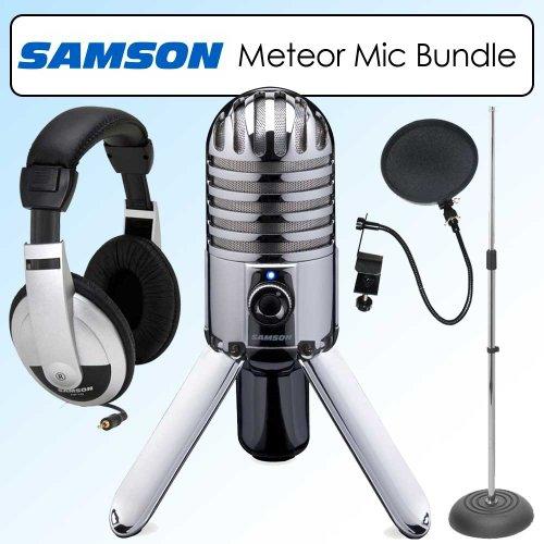 buy samson samtr meteor mic usb studio microphone bundle online multipurpose dynamic microphones. Black Bedroom Furniture Sets. Home Design Ideas