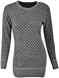 Dynamis Women/Girls's Knitwear Pullover Top (Multicolor , Large)