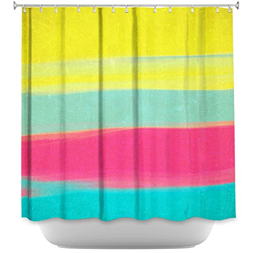 Shower Curtain Artistic Designer from DiaNoche Designs by Arist Rachel Burbee Unique, Cool, Fun, Funky, Stylish, Decorative Home Decor and Bathroom Ideas - Skies The Limit VI