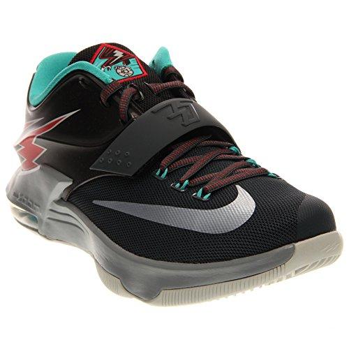 nike KD VII scarpe ginnastica pallacanestro 653996 scarpe da tennis kevin durant - carbone grigio colomba università rosso 005, 8.5 UK / 43 EU / 9.5 US
