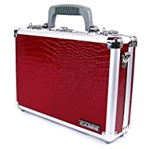 Common Sense Croc Single/Double Pistol Case, Red
