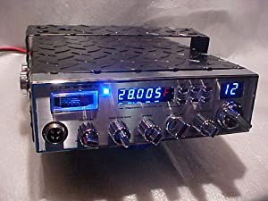 BLACK Diamond Plated Connex 3300FHP AM/FM 10 Meter Amateur Mobile Transceiver Radio