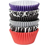 Wilton 415-2356 150 Count Baking Cup, Standard, Damask/Zebra