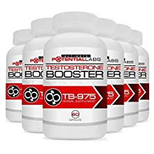 buy Tb-975 Testosterone Booster (6 Pack) - Ultimate Sports Nutrition Dietary Supplement Rockets Your Testosterone Level Through The Roof & Gives You The Energy, Endurance & Stamina Of Superman In The Gym & Bedroom; Energizing Muscle Building & Libido Enhancer