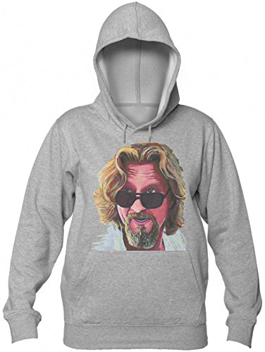 Portrait Of The Big Lebowski Women's Hooded Sweatshirt Large