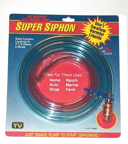 Triple-Seven-Enterprises Inc. 00101 Safety Siphon Self Priming Pump