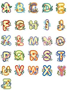 OESD C&C Treasure Chest of Embroidery Machine 104 Designs Volume 6 CD ALPHABETS by Anita Goodesign